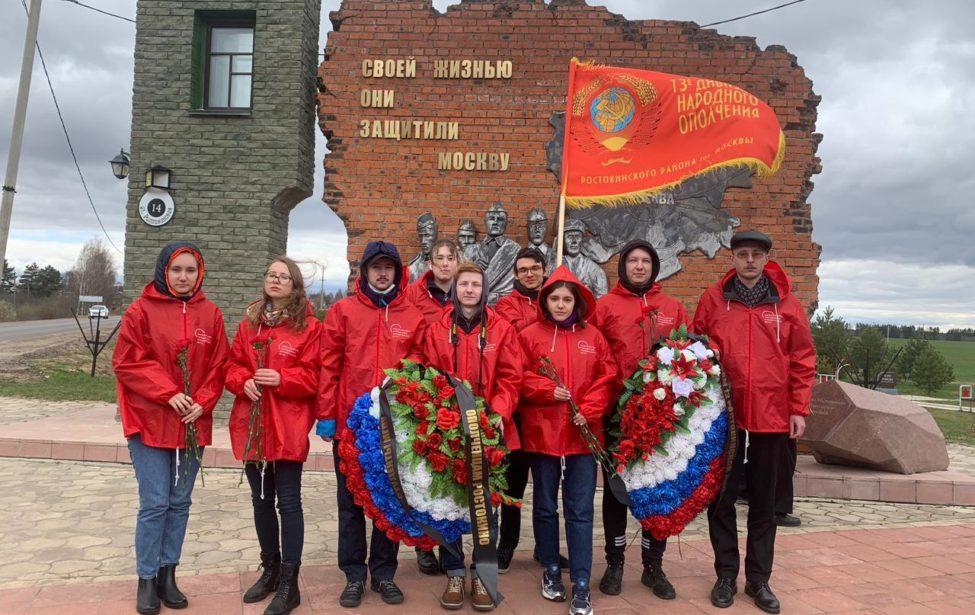 Поместам боёв наСмоленщине: студенты колледжа почтили память павших солдат