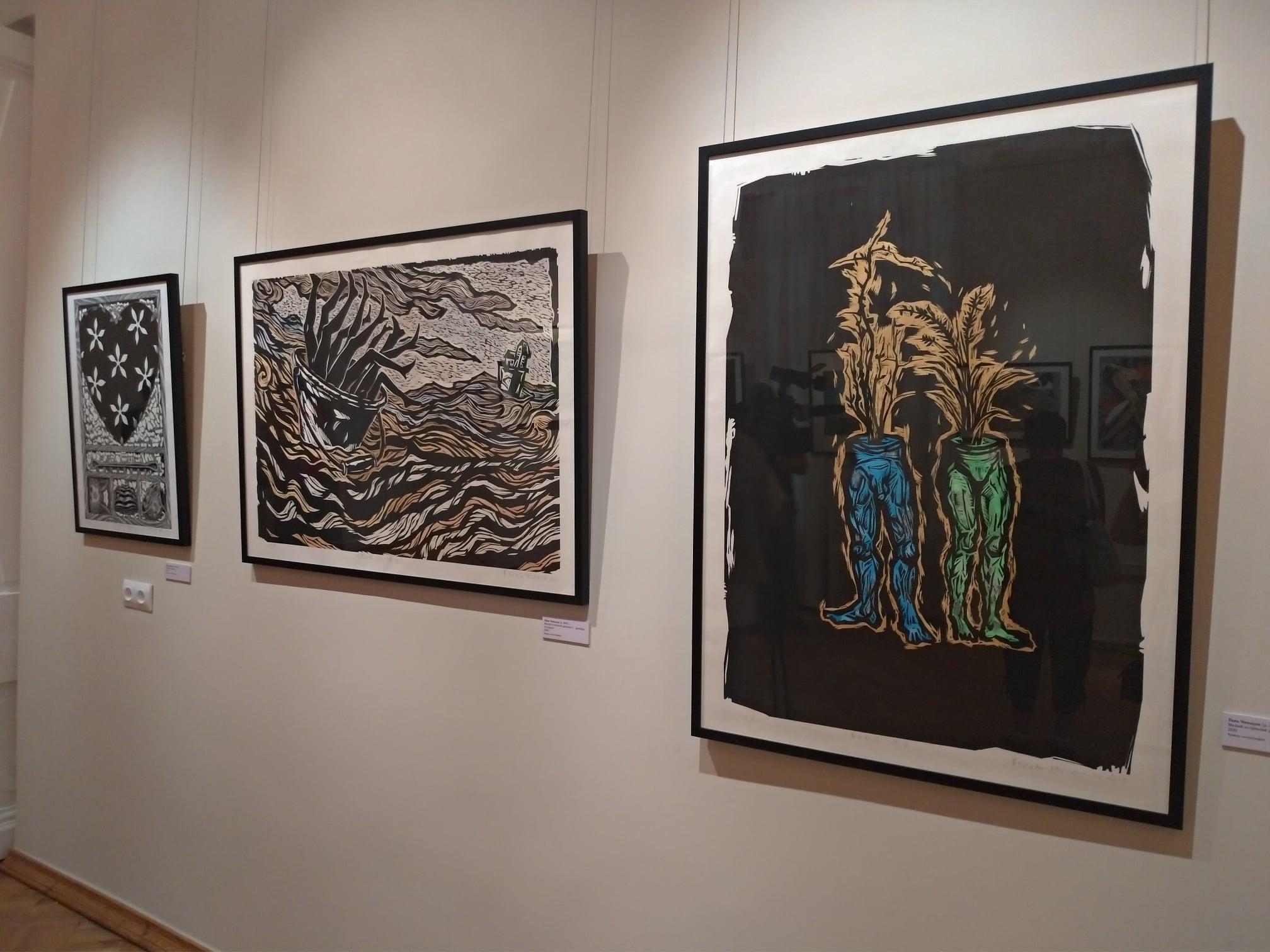 Художественная выставка вМузее Востока