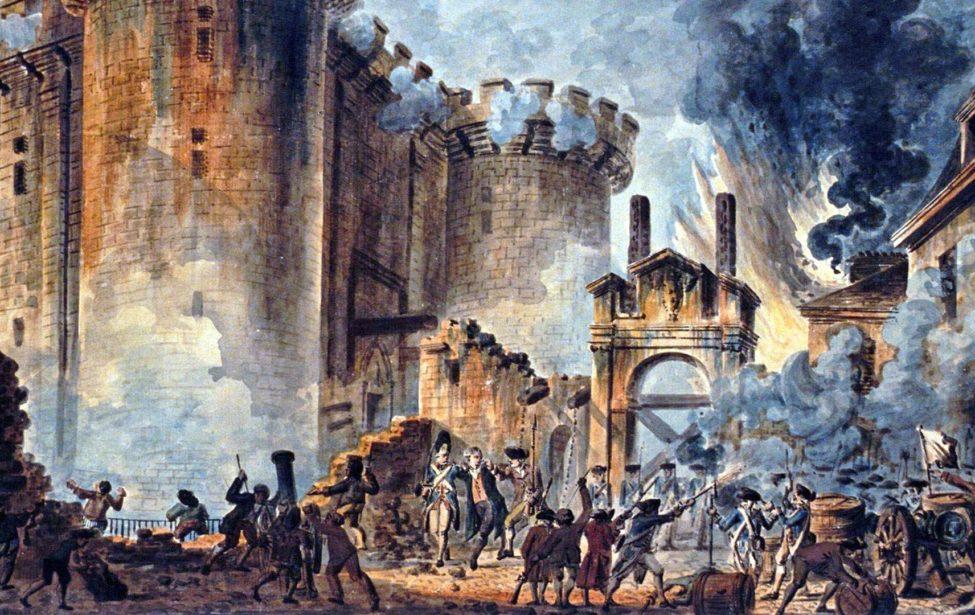 Студенты ИИЯ отпраздновали День взятия Бастилии