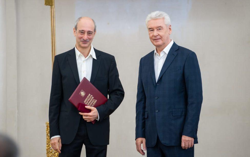 Карэн Бадалов получил премию Москвы вобласти литературы иискусства