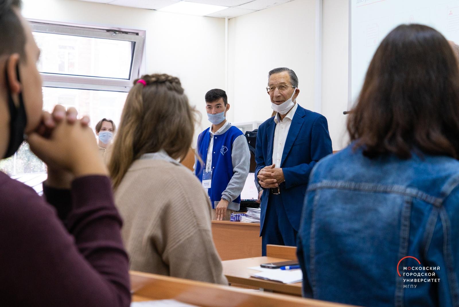 Президент Московского городского поздравил студентов с1сентября