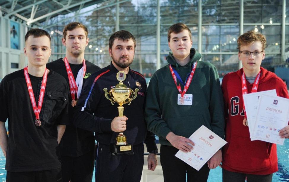 Пловцы ШВВС МГПУ завоевали медали Кубка Москвы